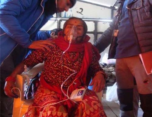 Gosainkunda Temporary Health Camp 2016