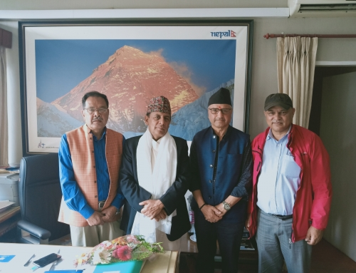 Meeting with Tourism Secretary