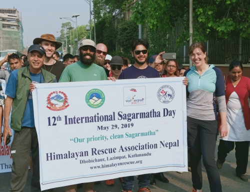 Participation in 12th International Sagarmatha (Everest) Day