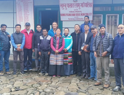 HRA team proudly visited Khumbu Pasanglhamu Rural Municipality Office.