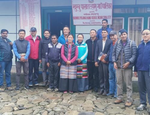 HRA team proudly visited Khumbu Pasanglhamu Rural Municipality Office.