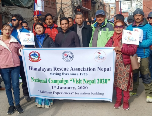 "Participation in National Campaign ""Visit Nepal 2020"""